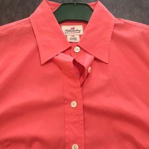 J.Crew woman's cotton stretch 3/4 sleeve shirt